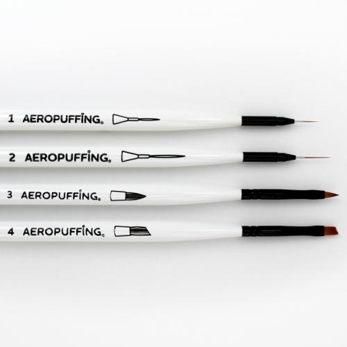 AEROPUFFING, Brushes Kit